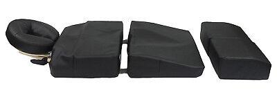 DevLon NorthWest Massage Pillow Set Pregnancy Cushion Bolster Full Body Black