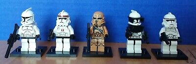 LEGO Star Wars Clone Minifigure lot FREE SHIPPING!