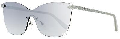 Guess Shield Sunglasses GU7549 10C Palladium/Gray 0mm (Guess Shield Sunglasses)
