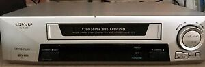 Sharp VCR VHS Player Video Cassette Recorder Stanhope Gardens Blacktown Area Preview