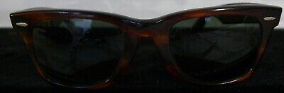 VINTAGE RAY BAN TORTOISE SHELL WAYFARER 5022 SUNGLASSES