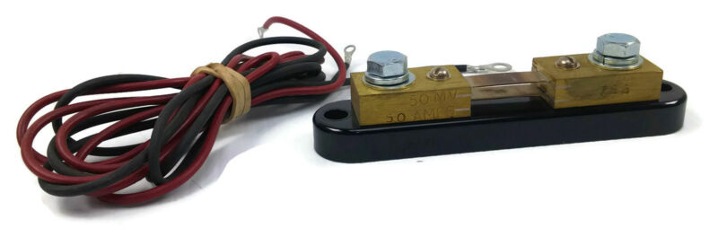 Simpson Electric 766 Current Shunt 50 Amps 50 MV