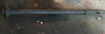 Antique Cast Iron Original Gate Post