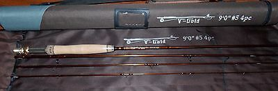 5wt 4 Piece Rod - 5WT Fly Fishing Rod 9FT 4Piece Graphite IM12 &Cordura Tube FREE 3 DAY DELIERY