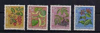 Schweiz - 1976 - Mi. Nr. 1083-1086 - Postfrisch