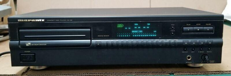 MARANTZ CD-52 COMPACT DISC CD PLAYER !  !  B185i