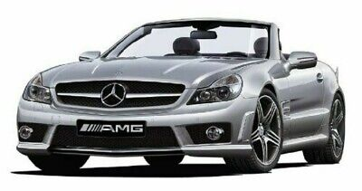 Aoshima 1//24 Scale The Best Car GT No.06 Mercedes-Benz SL 63 AMG Model kit Gift