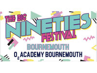 2 x tickets The Big Nineties Festival