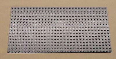 x1 NEW Lego Gray Baseplate Base Plate Brick Building 16 x 32 Dots BLUISH GRAY
