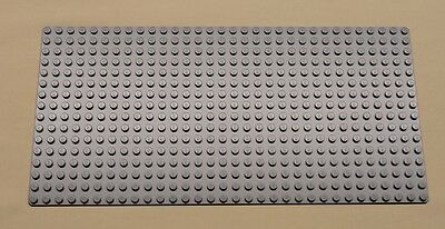 x1 NEW Lego Gray Baseplate Base Plate Brick Building 16 x 32