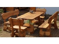Solid Oak Outdoor - Indoor furniture, handmade, high quality and unique.