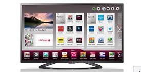 "42"" LG SMART TV 42LN575V ,WIFI,YOUTUBE, FACEBOOK ETC,FREEVIEW"