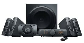 Logitech Z906 Stereo Speakers 3D 5.1 Dolby Surround Sound 1000 W New Warranty