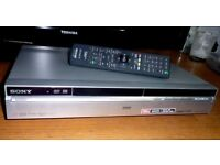Sony RDR-HXD870 DVD Recorder. full working order very little used last two years