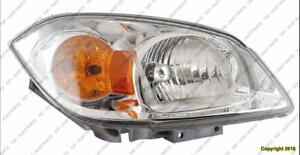 Head Light Passenger Side ( Without Bracket) High Quality PONTIAC G5 2005-2010