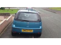 Vauxhall corsa 1.2 blue