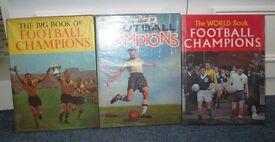 BOOKS OF FOOTBALL CHAMPIONS