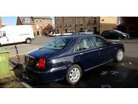Rover 75 with towbar