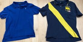 Boys XL polos, good condition