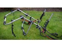 Halfords High Mount Car Bike Rack for up to 3 bikes