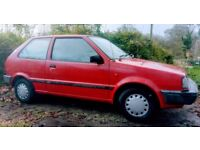 Reduced! Very low mileage Mk1 Nissan Micra, genuine low 21k miles, 10 months MOT, one lady owner.