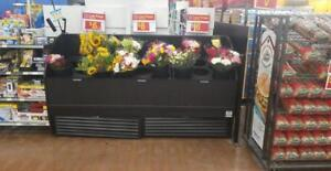 Floral Cooler  - Commercial Flower Refrigerator -- perfect for flower shop or grocery store - 6 Available! Great price!