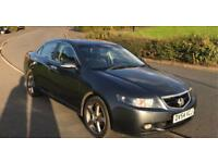 54 reg Honda accord 2.0 I VTEC EXECTIVE 4 DOOR GREY