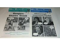 Huge When Saturday Comes Football Magazine Collection - Excellent & Complete - 323 Issues!