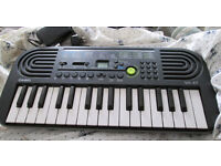 Casio 100 Tone/Instrument Sounds Keyboard WITH Casio POWER SUPPLY. Unused Condition.