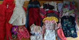 Various used/clean girls clothes Age 2-3. (Bag No. 3)