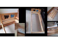 Children's Bed (Ikea Kritter), mattress available