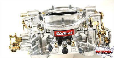 Edelbrock Carburetor  600 CFM Hand Choke Factory Remanufactured NCR-1405 / 9905