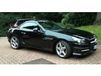 SLK 250CDI Auto Black / Black Leather COMAND 1 Owner 800 miles Documented Mercedes Service History