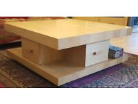 Morris Furniture - Square Coffee Table and TV stand