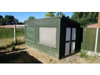 LARGE SHED (DOUBLE DOORS, DOUBLE GLAZING WINDOW)