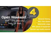 OPEN WEEKEND AT XERCISE4LESS LIVINGSTON
