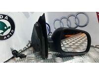 VW LUPO / SEAT AROSA 2000-2005 MODEL DRIVERS SIDE MANUAL WING MIRROR 02