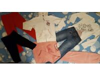 GIRL'S CLOTHING BUNDLE - Age: 6