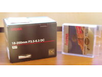 Sigma 18-200mm Zoom lens - Pentax fit