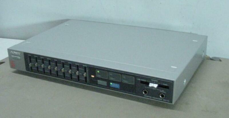 SONY SEH-V5 GRAPHIC EQUALIZER