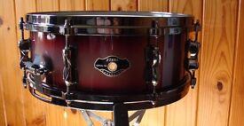 Tama Hyperdrive, Snare Drum with Die Cast Hoops ..Drum kits
