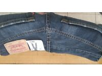 """LEVI 508 JEANS LOOSE FIT - 30/30 Waist 30"""" Leg 30 """" 10"""" Opening - NEW WITH TAGS"""
