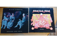 Black Sabbath x 4 plus Ozzy Osbourne Randy Rhoads tribute LPs