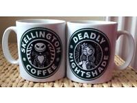 Nightmare Before Christmas Coffee Mug Set