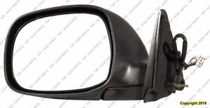 Door Mirror Power Driver Side Heated Regular/Access Cab Sr5 Model Chrome Toyota Tundra 2003-2004