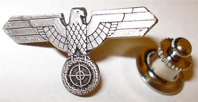 German Eagle Sniper Scope Military Antique Replica Jacket Hat Tie Tack Lapel Pin