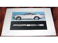Porsche 912 911 T S Targa Coupe Brochure