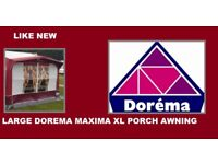 Caravan Awning DOREMA MAXIMA XL LARGE Porch Awning Excellent Condition All Season.