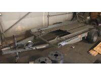 Like new Ifor Williams car transporter trailer