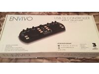 Envivo DJ Controller, Brand new, USB DJ Controller music solution, 3yr warranty RRP £49.99 ONLY £20